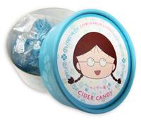 ちびまる子ちゃん まる子サクラキャンディ たまえサイダーキャンディ 商品画像