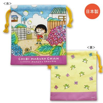 ちびまる子ちゃん 原作デザイン 巾着 4種 商品画像