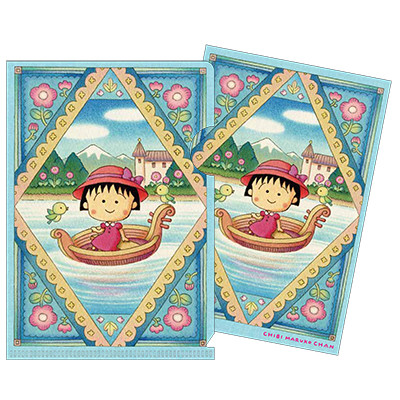 「ちびまる子ちゃん」原画 ポストカード(ケース付き) 商品画像