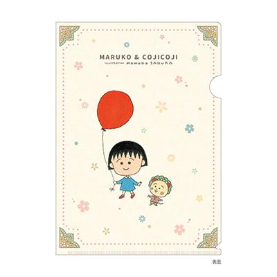 まる子とコジコジ A4クリアファイル バルーン 商品画像