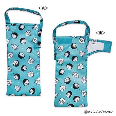吸水ポーチ(原画まる子イエロー/ブルー) 商品画像